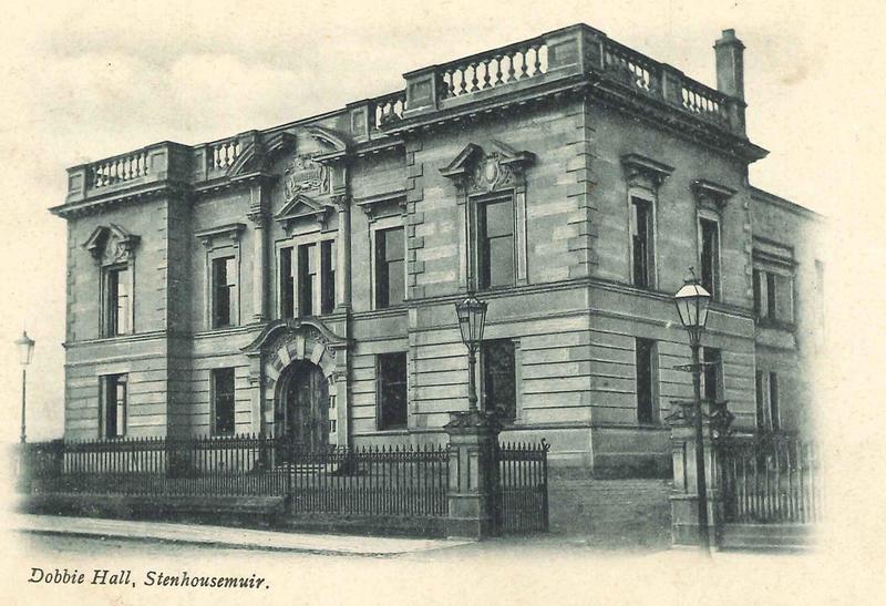Memories of Stenhousemuir Part 2: Dobbie Hall