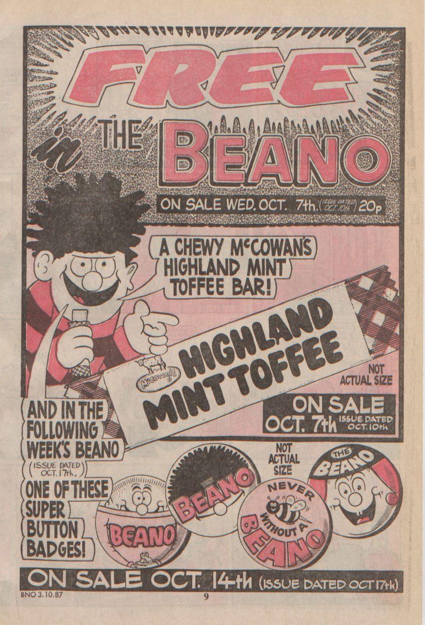 McCowan's and British Comics