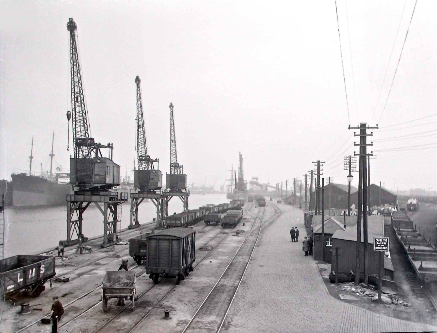 Grangemouth Docks Time Line