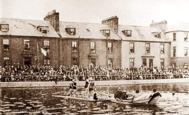 Grangemouth and World War One