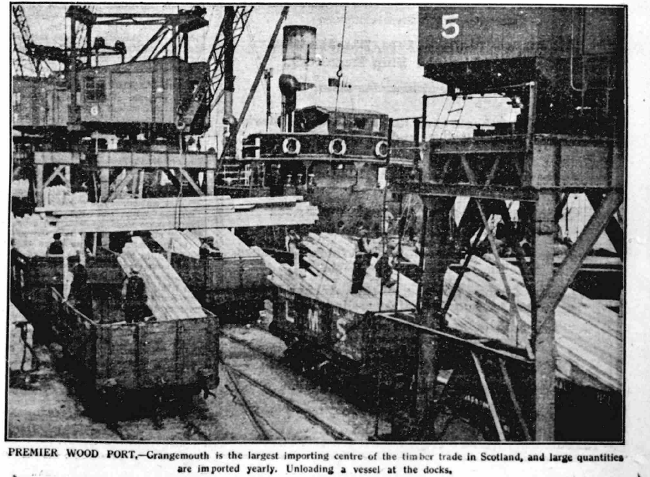 Grangemouth and the Timber Trade