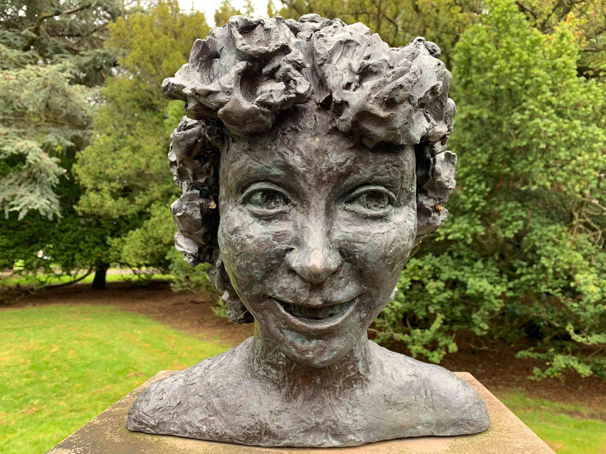 Sculpture of Sheila McKechnie