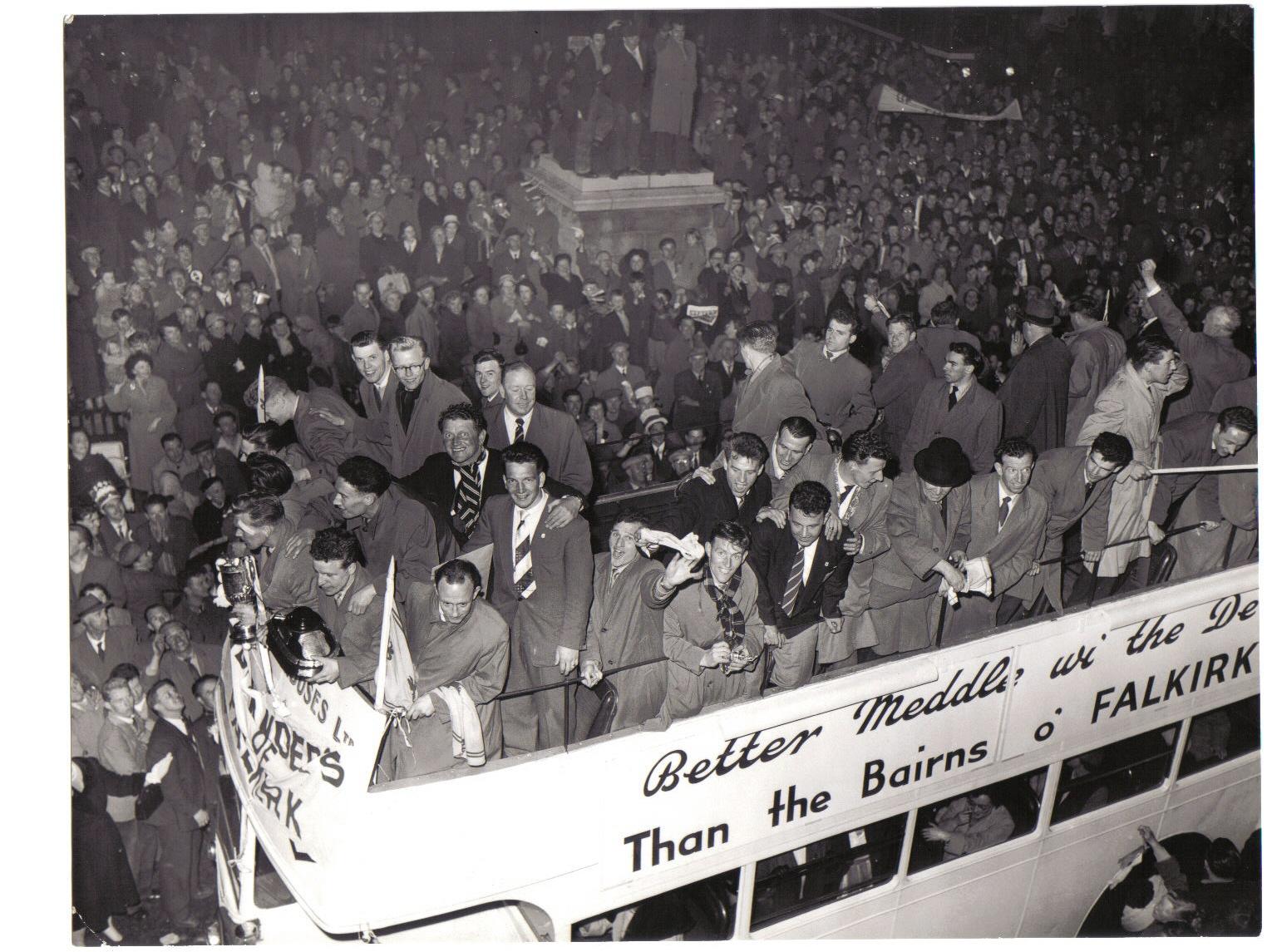 Falkirk FC in 1957