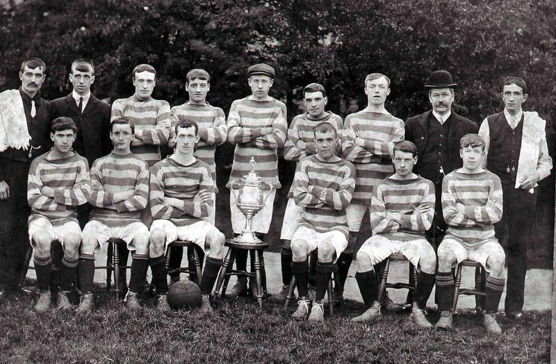 Camelon Juniors 1907-08