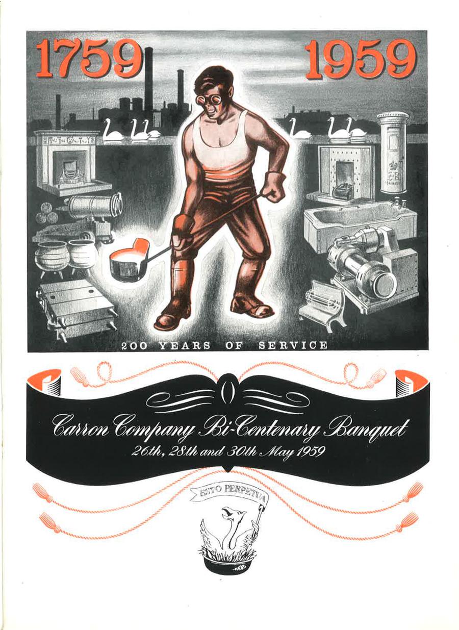 Carron Company Bi-Centenary 1959