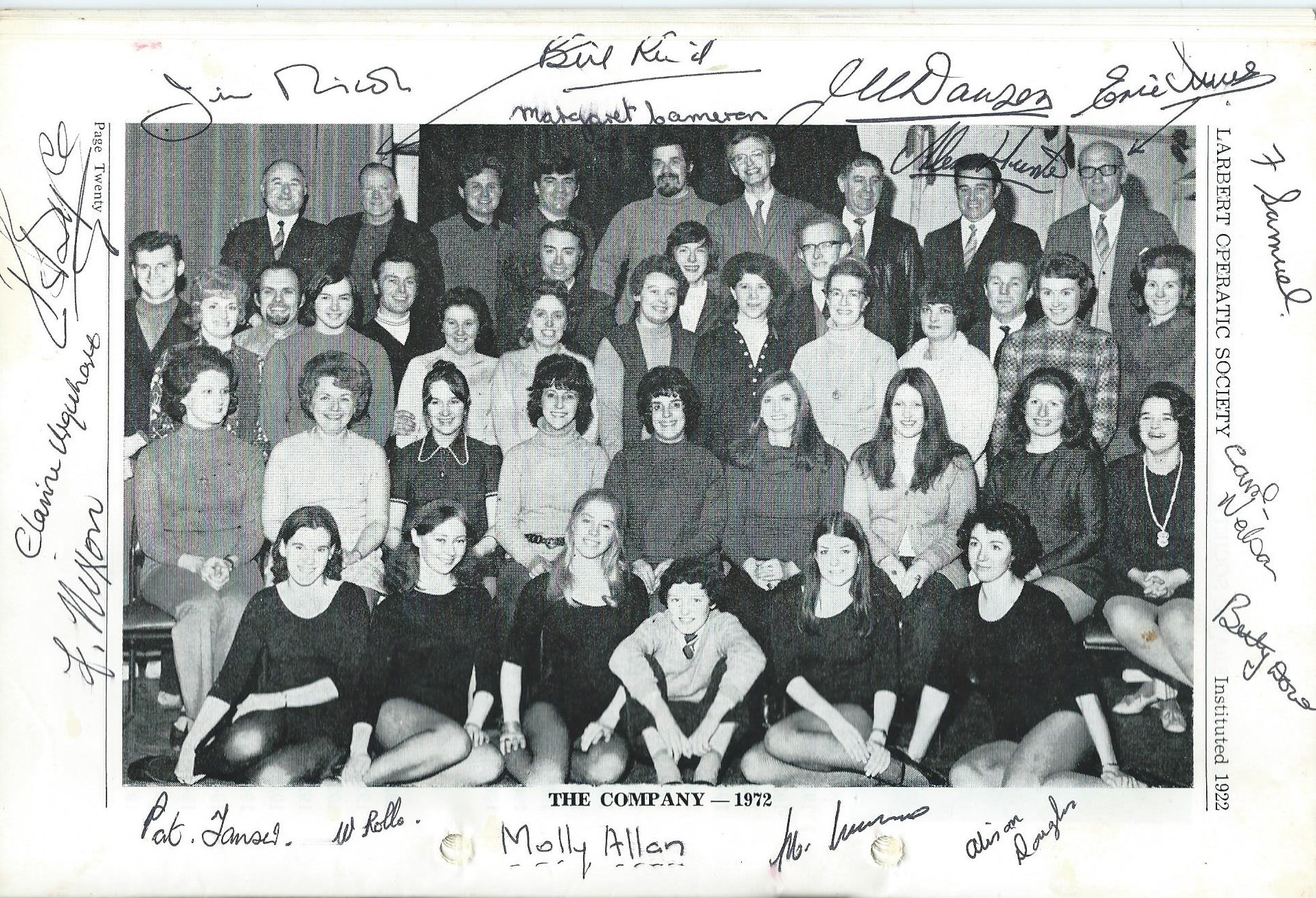 Recollections of Larbert Amateur Operatic Society