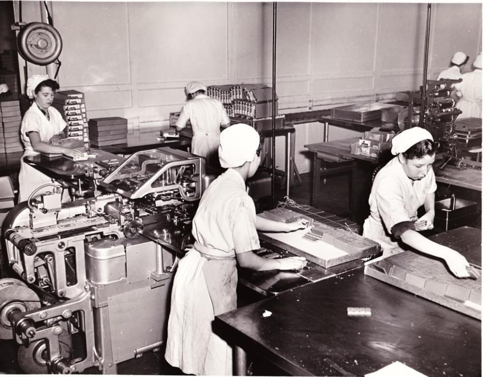 McCowan's Toffee Factory Women Workers